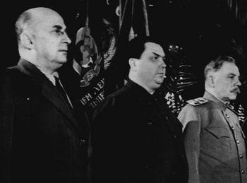 1953 Beria,  Malenkov & Voroshilov.jpg