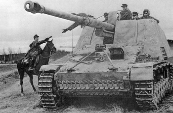 A Rider Delivers Mail to Nashorn Crew.jpg