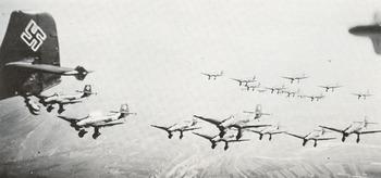 A swarm of Junkers Ju 87 Stuka dive bombers.jpg