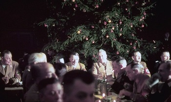 Adolf Hitler and other Nazi officials celebrate Christmas.jpg