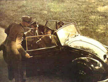 Adolf Hitler was presented with his own volkswagen convertible.jpg