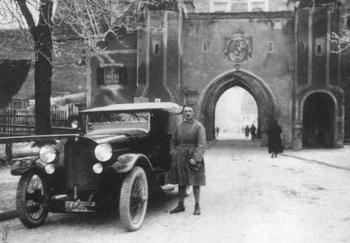 Adolf Hitler, age 35, on his release from Landesberg Prison, 1924.jpg