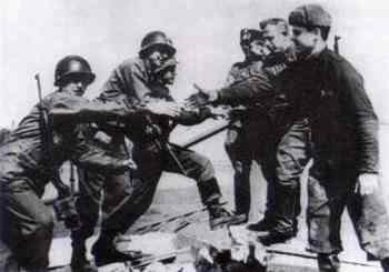 American and Soviet troops meet east of the Elbe River2.jpg
