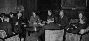 Anthony Eden (fourth from left) and Sir John Simon, meets with Adolf Hitler, Berlin, Germany,1935..jpg