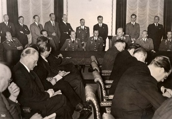 Berlin, Germany, December 1939, A press conference at the Ministry of Propaganda..jpg