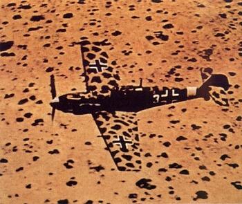 Bf109 in the best desert camo.jpg