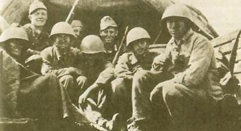 Brandenburg commandos in Russian uniform, 1941.jpg