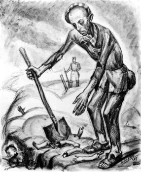 Burying the Remains of Children by David Olère.jpg