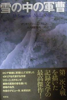 雪の中の軍曹.JPG