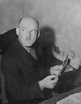 Fritz Sauckel in his prison cell.jpg