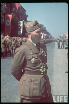 Generalfeldmarschall Wolfram Freiherr von Richthofen, chief officer of Legion Condor on its return from Spain, 6 June 1939.jpg