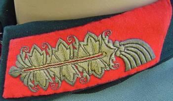 Generalfeldmarschall pattern collar tab in fine gold wire from the uniform of GFM von Manstein.jpg