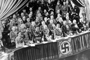Goebbels, Hess, Göring, Von Mackensen, Hitler, von Bloomberg, Frick, Raeder.jpg