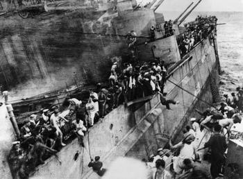HMS Prince of Wales were sunk off Kuantan in Malaya by Japanese bombers.jpg