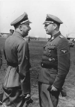 Hans-Adolf Prützmann meets with Heinrich Himmler in the Ukraine.jpg