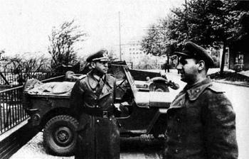 Hans Krebs, negotiations in the soviet HQ in Berlin.jpg