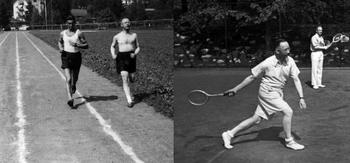 Heinrich Himmler Trains for the Reich Sport Badge in Silver  1936.jpg