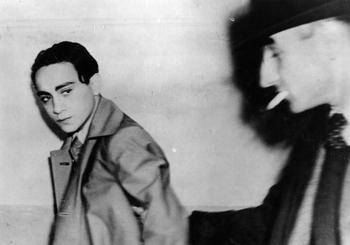 Herschel Grynszpan, right after his arrest.jpg