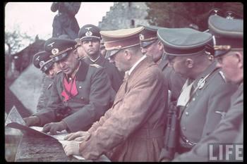 Hitler and Heinrich Himmler inspect the West Wall (Siegfried Line) in August 1938.jpg