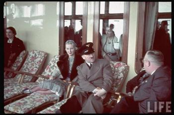 KDF Ship Robert Ley on its maiden voyage. L Mrs. Ley, and Hitler.jpg