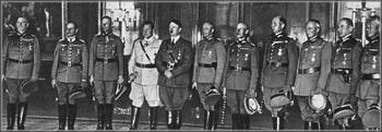 Keitel, v.Rundstedt, v.Bock, Göring, Hitler, v. Brauchitsch, v.Leeb, List, v.Kluge, v.Witzleben, Reichenau.jpg