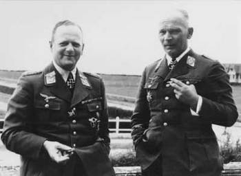 Milch&Richthofen_ Hitler declared Milch Aryan_ He was awarded the Ritterkreuz for his performance during the campaign in Norway in 1940.jpg