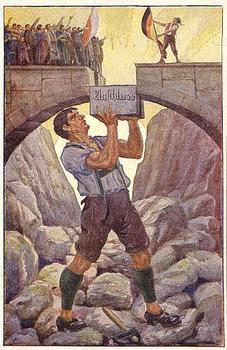 Nazi Propaganda Postcard-Anchluss of Austria.jpg