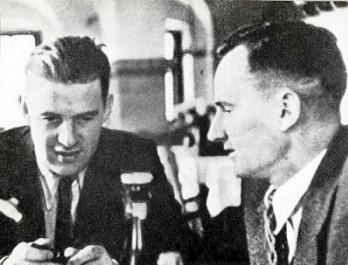 Otilo Globocnik and Friedrich Rainer in Vienna, 1938.jpg