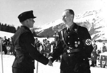 Reinhard Heydrich in Kitzbühel during the German Ski Championships 1939.jpg