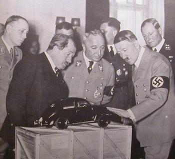 Robert Ley and Ferdinand Porsche Hitler.jpg