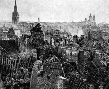 Smoldering ruins of Caen.jpg