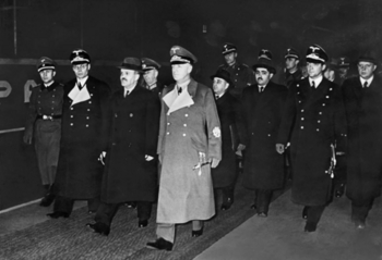 Soviet Foreign Minister Molotov and Dekanozov is greeted by Ribbentrop in Berlin, November 14, 1940..jpg