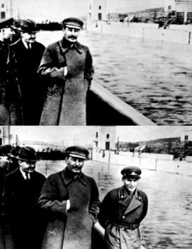This is Nikolay Ezhov - Head of NKVD, personally responsible for most of Great Purge.jpg
