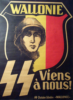 Waffen-SS Wallonie Poster -Come With Us-.jpg