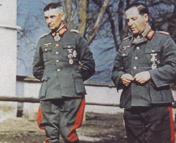 Walter Model with General der Panzertruppe Hermann Breith.jpg
