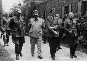 Wilhelm Keitel,  Hermann Göring, and Martin Bormann.JPG