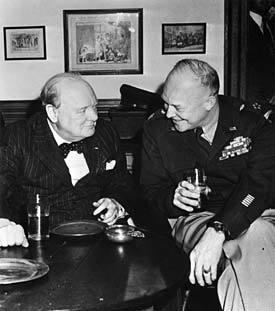 Winston Churchill and Dwight Eisenhower shared a glass at the Inn.jpg