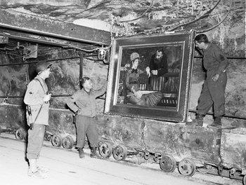 Wintergarden by French impressionist Edouard Manet was also found in the same salt mine in Merkers.Altaussee.jpg
