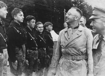 youth camp, Reichsfuehrer-SS Heinrich Himmler 1936.jpg